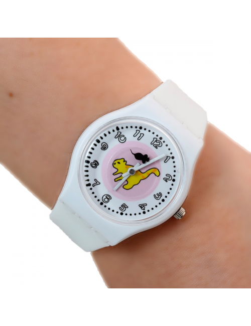 Reloj Gato Ratón Dayoshop $31.900