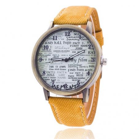 Reloj Letra Vintage Dayoshop $31.900