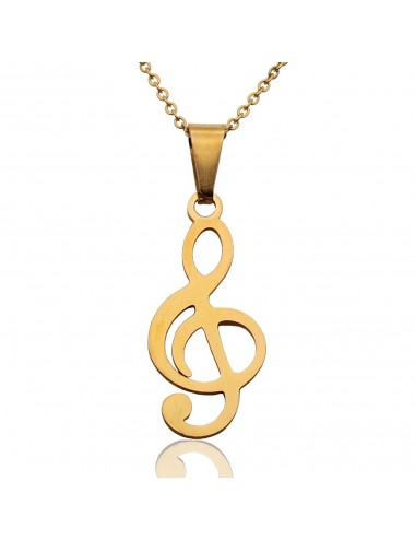 Collar Nota Musical Dayoshop $19.900