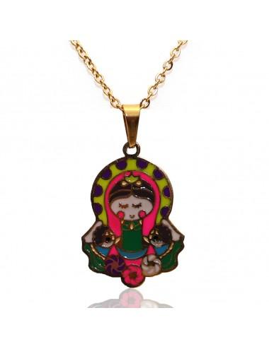 Collar Virgen Dayoshop $19.900