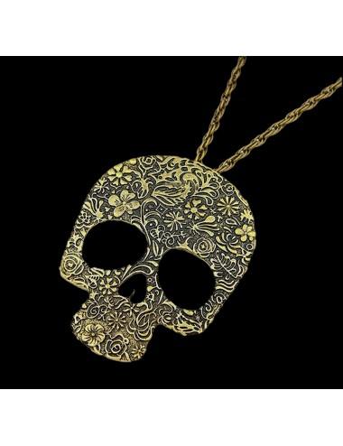 Collar Calavera Dayoshop $13.900