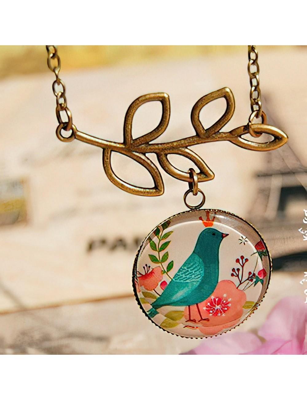Collar Pájaro Rey Dayoshop $15.900
