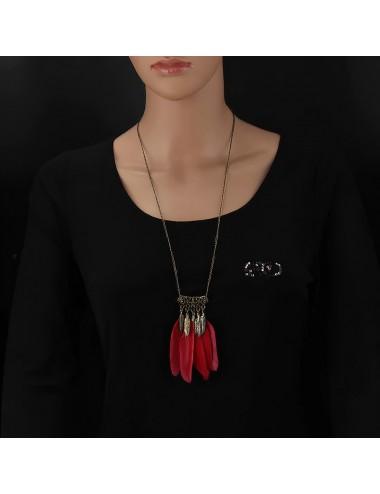 Collar Pluma Dayoshop $15.900