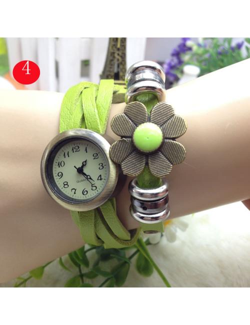 Reloj flor Vintage