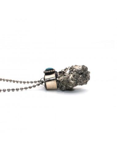 Collar Pirita Acero Dayoshop $29.900