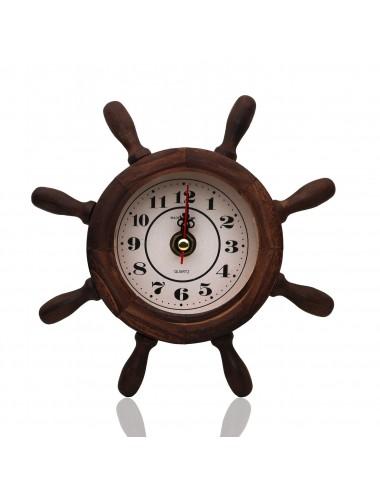 Reloj Timón Madera Dayoshop $25.900
