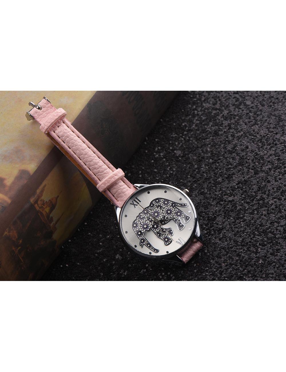 Reloj Elefante Floral Dayoshop $31.900